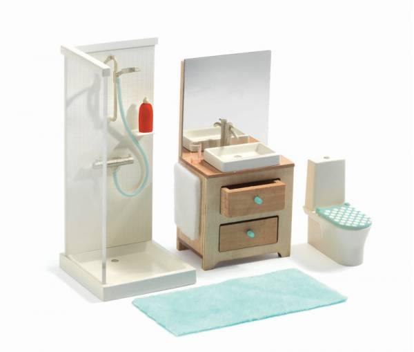 DJECO Puppenhaus: Badezimmer