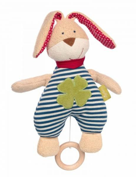 SIGIKID Spieluhr Hase Green orcanic