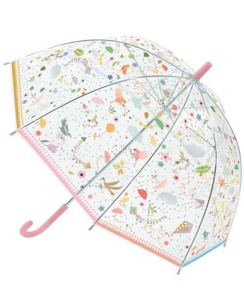 DJECO Regenschirme Kleinen Freunde (transparent/bunt)