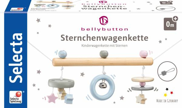 SELECTA Belly Button Sternchen, Wagenkette