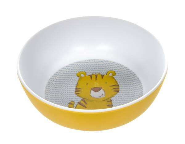 SIGIKID Melamin Kinderschüssel Tiger