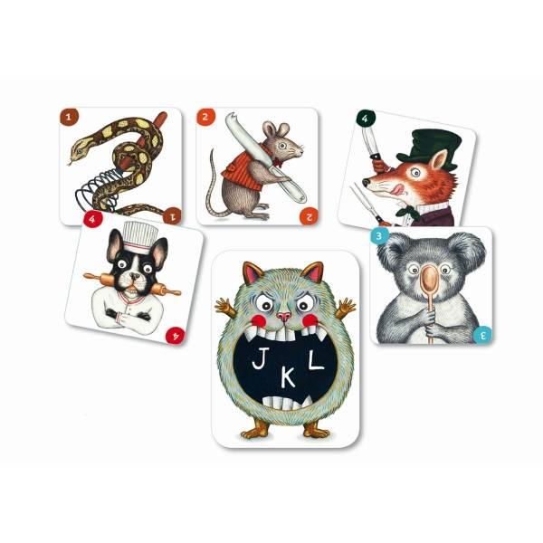 DJECO Kartenspiele: ABC Miam