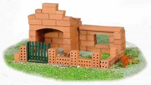Steinbaukasten Haus klein (2 Pläne)