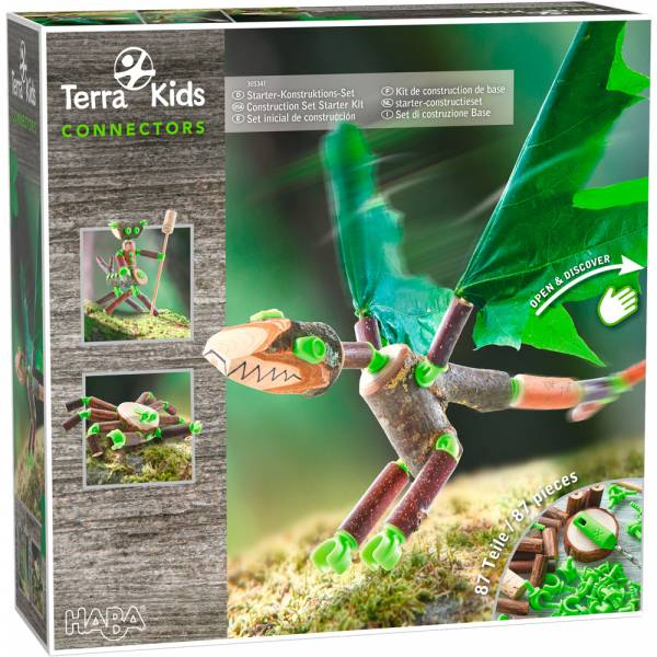 HABA Terra Kids Connectors – Starter-Konstruktions-Set
