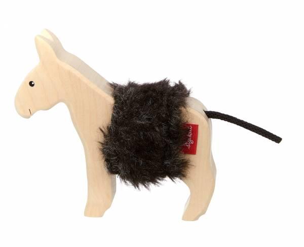 SIGIKID Holztier Esel, Cudly Wudly