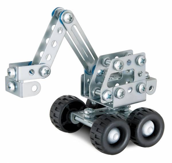 EITECH Minibagger Metallbaukasten