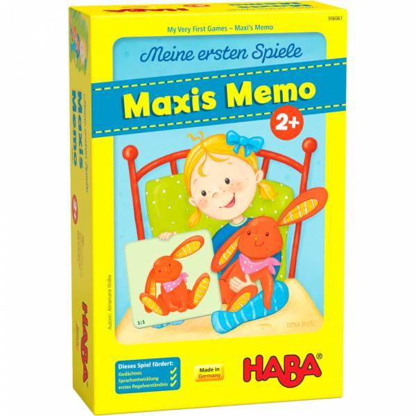 HABA Meine ersten Spiele – Maxis Memo