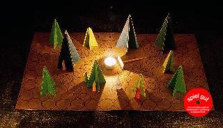 Das einfache Waldschattenspiel