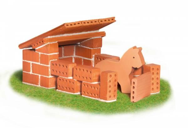 TEIFOC Bausatz Pferdestall