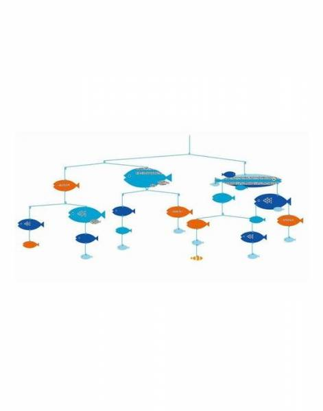 """Mobile """"Fische in Harmony"""""""