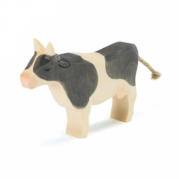 Kuh, schwarz, stehend