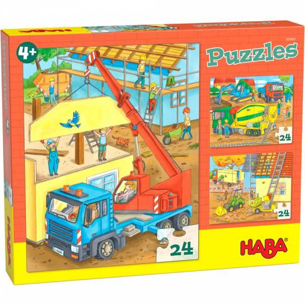 Puzzle Auf der Baustelle