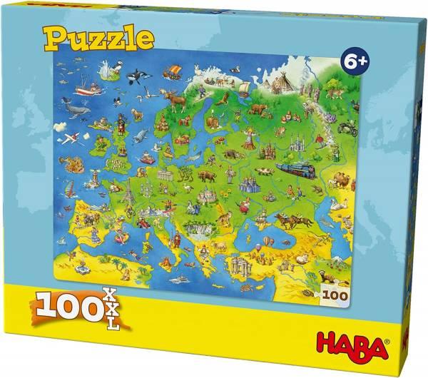 Puzzle Länder Europas