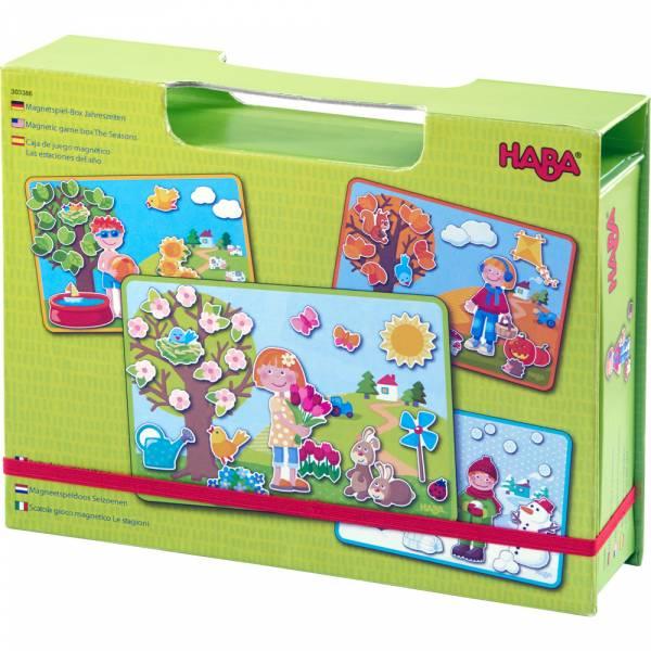 HABA Magnetspiel-Box Jahreszeiten