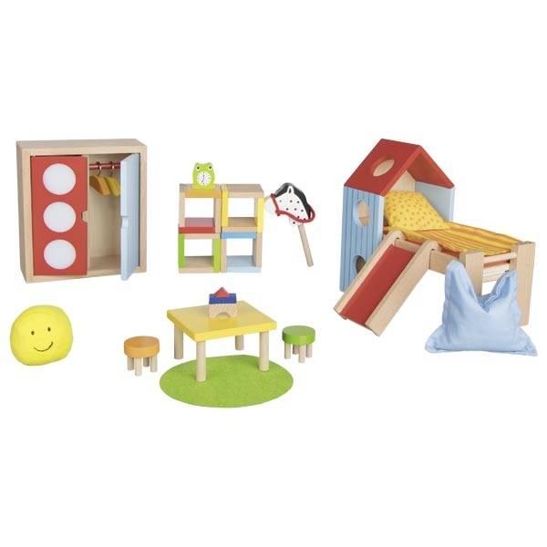 GOKI Kinderzimmer Puppenhaus
