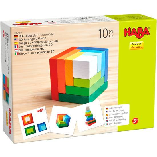 HABA 3D-Legespiel Farbenwürfel