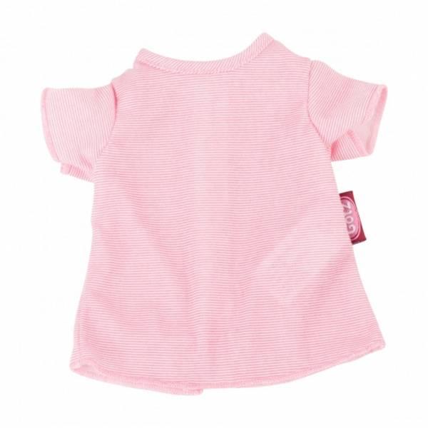 Bestickung T-Shirt Streifchen Gr. M (Puppen von 42-46cm)