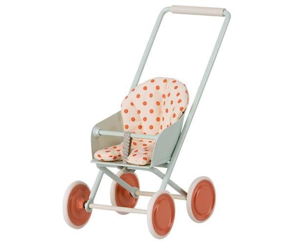 MAILEG Kinderwagen, Micro (Himmelblau)