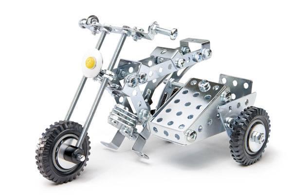 EITECH Motorrad mit Beiwagen