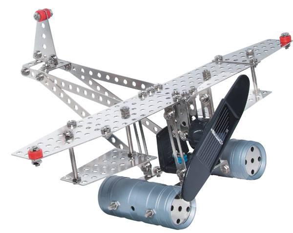 EITECH Metallbaukasten mit Solarzelle und Motor