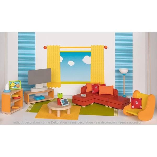 GOKI Wohnzimmer Puppenhaus
