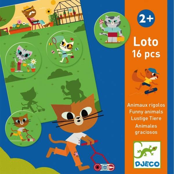 Lernspiele: Lustige Tiere