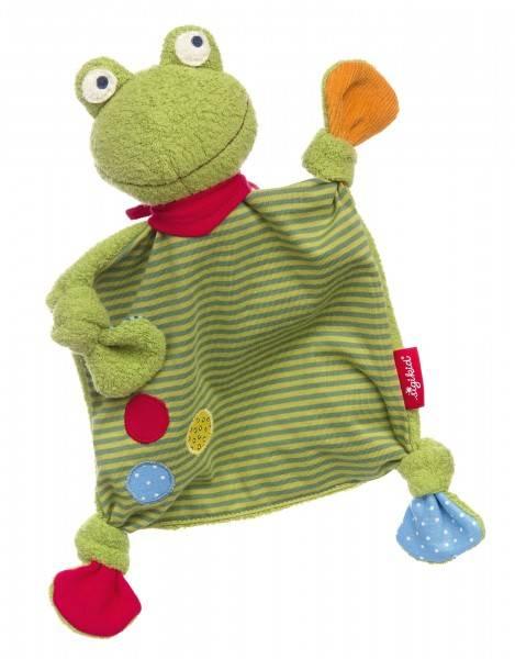 SIGIKID Baby Schnuffeltuch Flecken Frog