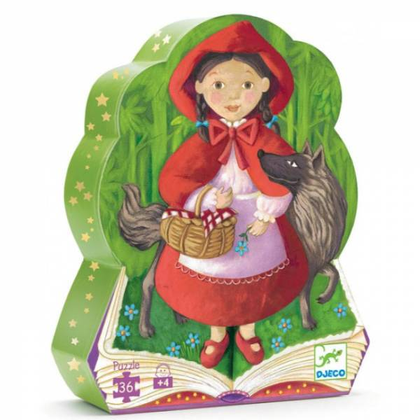 """DJECO Formenpuzzle """"Little red riding hood"""""""
