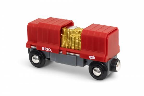 BRIO Container Goldwaggon