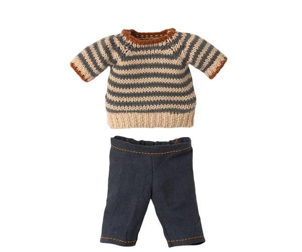 MAILEG Bluse und Hose für Teddy Papa