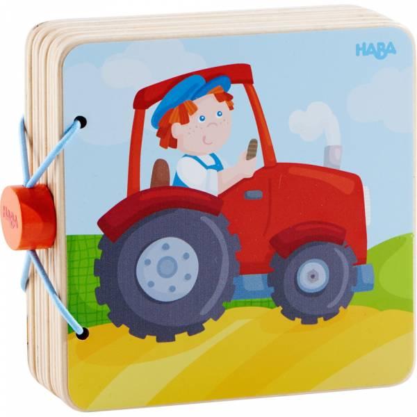 Holzbuch Traktor