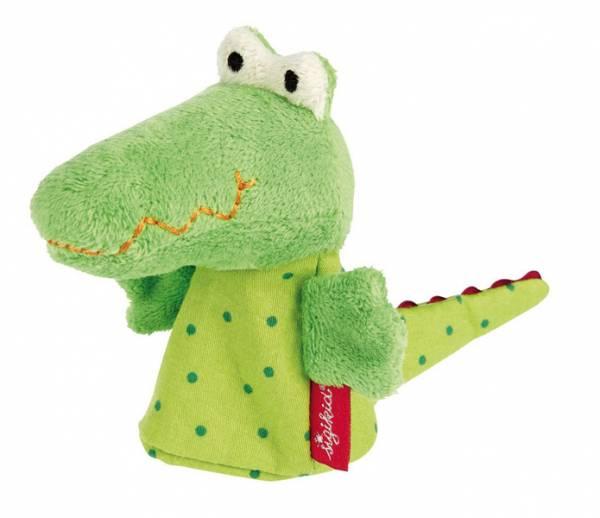 Fingerpuppe Krokodil