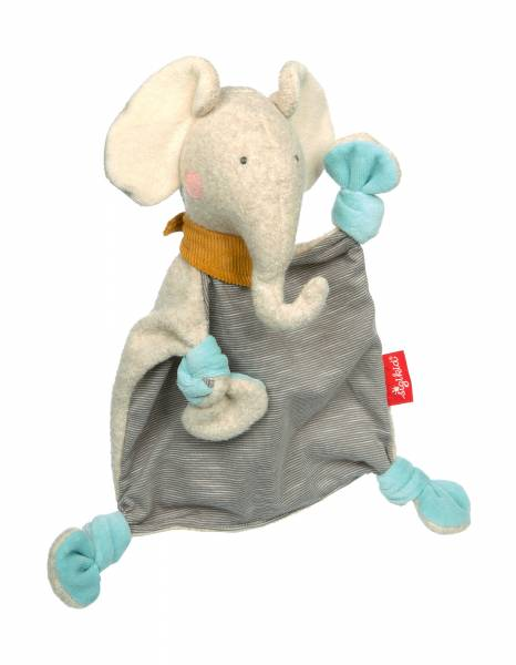 SIGIKID Schnuffeltuch Elefant, Gold Collection