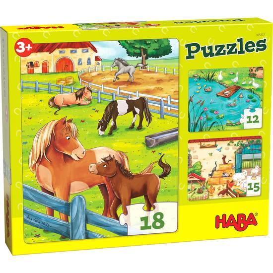 Puzzle Bauernhoftiere