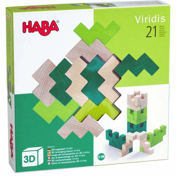 HABA 3D-Legespiel Viridis