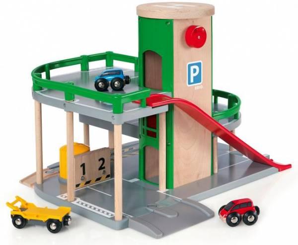 Brio Parkhaus Straßen & Schienen