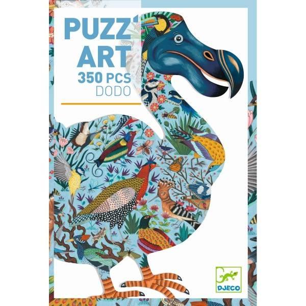 DJECO PuzzArt Puzzle Vogel Dodo (350 Teile)