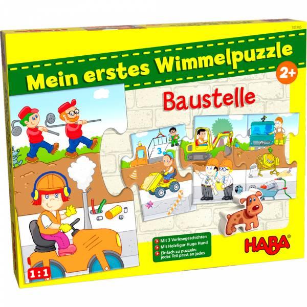 Mein erstes Wimmelpuzzle – Baustelle