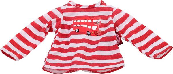 Shirt London Bus Gr. S (Puppen von 30 - 33 cm)