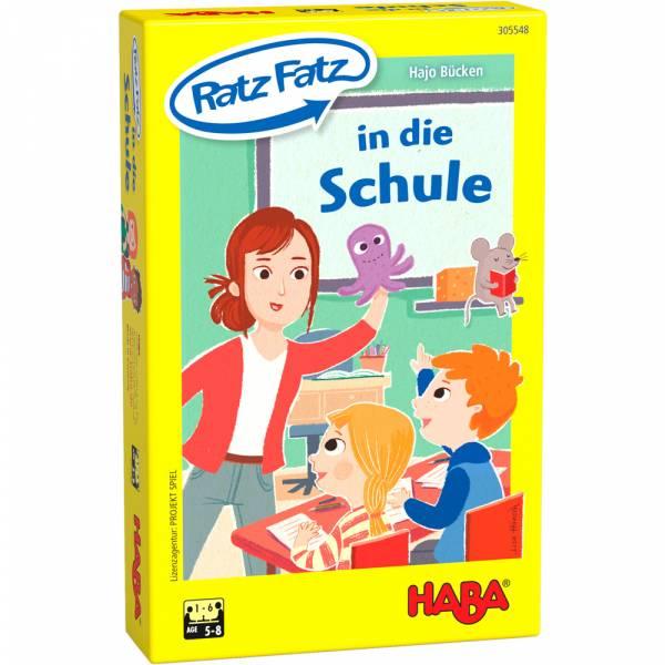 Ratz Fatz in die Schule