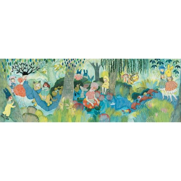 DJECO Puzzle Gallerie: River Party - 350 Teile
