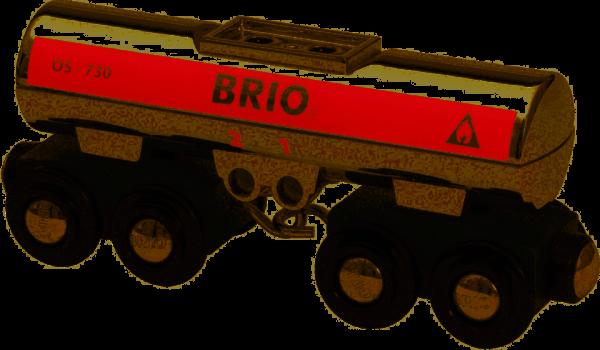 Brio Tankwagen (silber)