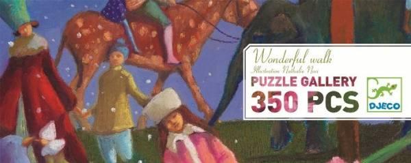 Puzzle Galerie: Wonderful walk (350 Teile)