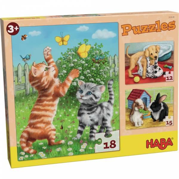 HABA Puzzles Haustiere