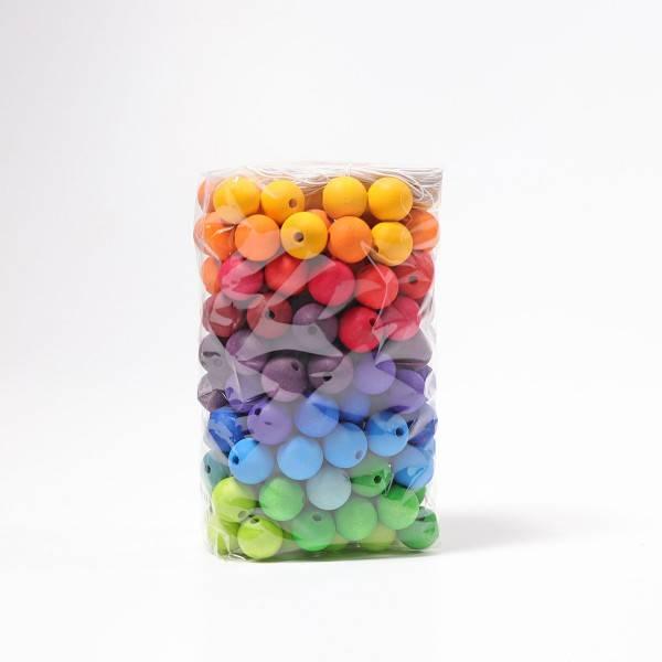 GRIMMS 180 Fädelperlen regenbogenfarben