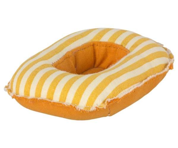 MAILEG Gummiboot (gelbe Streifen)