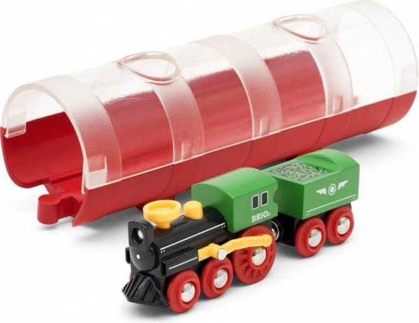 BRIO World Tunnel Box Dampflokzug