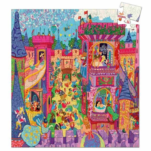 DJECO Formen Puzzle: The fairy castle - 54 Stk.