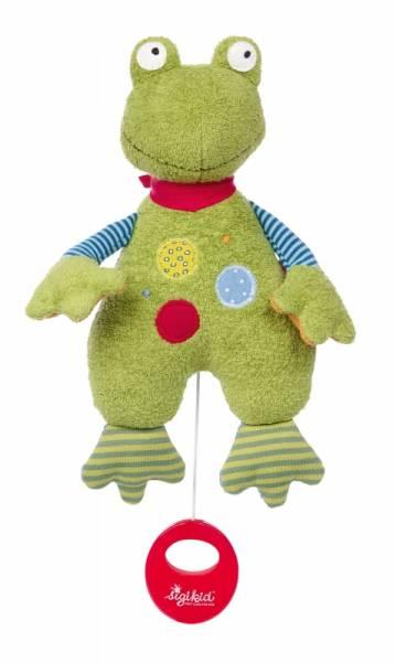 SIGIKID Spieluhr Flecken Frog (Frosch grün bunt)