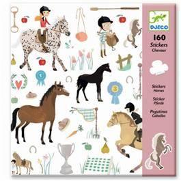 """DJECO Sticker """"Horses"""""""